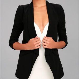 Women's Black Blazer - light weight!
